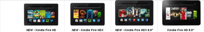 kindle fire compare Kindle Fire HDX vs Kindle Fire HD: Whats the difference?