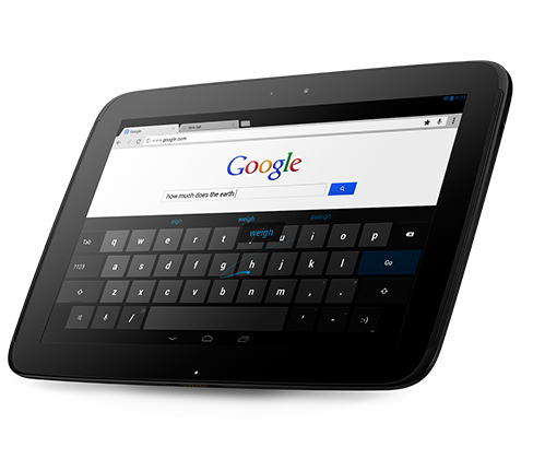 Google Nexis 10 tablet Best 14 Tablet 2013: Which tablet to buy?