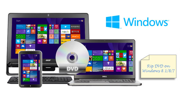 dvd to windows 8.1 8 7 Convert DVD movies on Windows 10/8.1/8/7 for watching freely