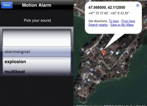 motion alarm Apps for you to Track or Find Your Stolen iPhone