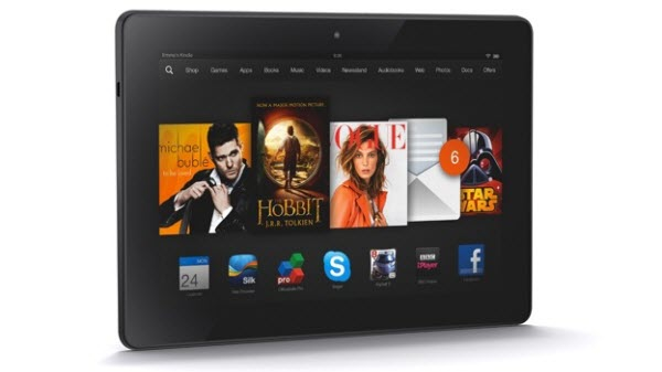 Amazon Kindle Fire HDX 8.9 Enjoy 3D (Multi track) Blu ray DVD on Kindle Fire HDX 8.9