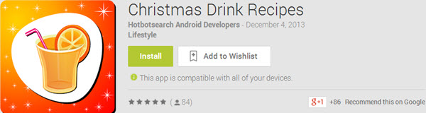 Christmas Drink Recipes Top 10 Best Android Christmas Apps