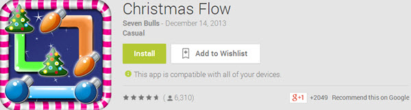 Christmas Flow Top 10 Best Android Christmas Apps