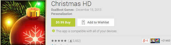 Christmas HD Top 10 Best Android Christmas Apps