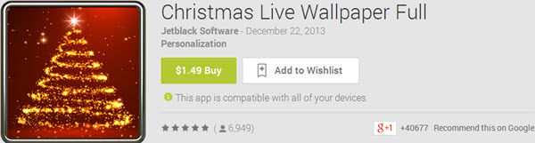 Christmas Live Wallpaper Full Top 10 Best Android Christmas Apps
