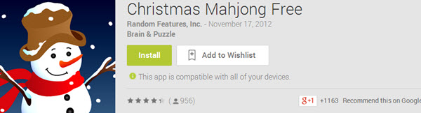 Christmas Mahjong Free Top 10 Best Android Christmas Apps