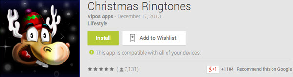 Christmas Ringtones Top 10 Best Android Christmas Apps