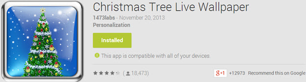 Christmas Tree Live Wallpaper Top 10 Best Android Christmas Apps
