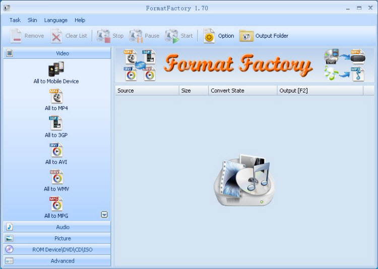 FormatFactory  Top 5 Free DVD Ripper in 2016 Reviews