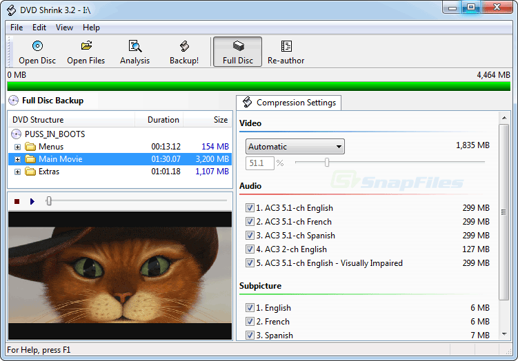 dvdshrink  Top 5 Free DVD Ripper in 2016 Reviews