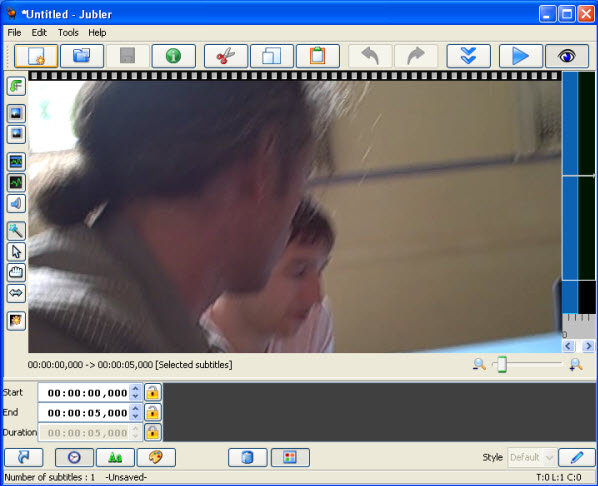 jubler Best free Tools To Edit & Adjust & Add Subtitle Files in 2016