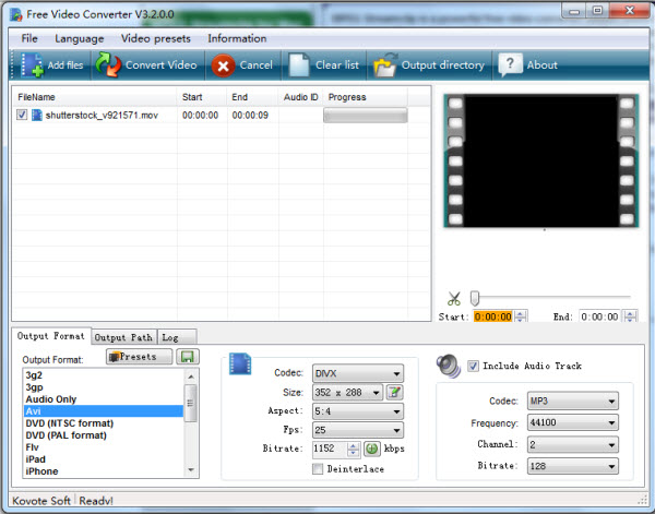 kovote Best free FLV to WAV Converter in 2016