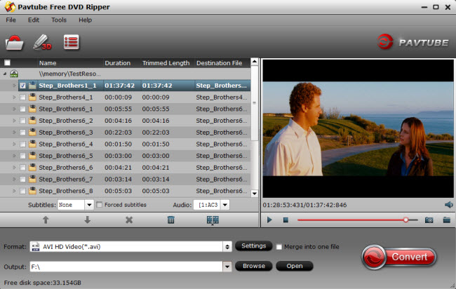 pavtube free dvd ripper Easily Convert Blu ray movies to playable format on Android device on Mac