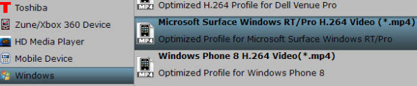 surface rt profile Why wont my Surface RT play WMV files?
