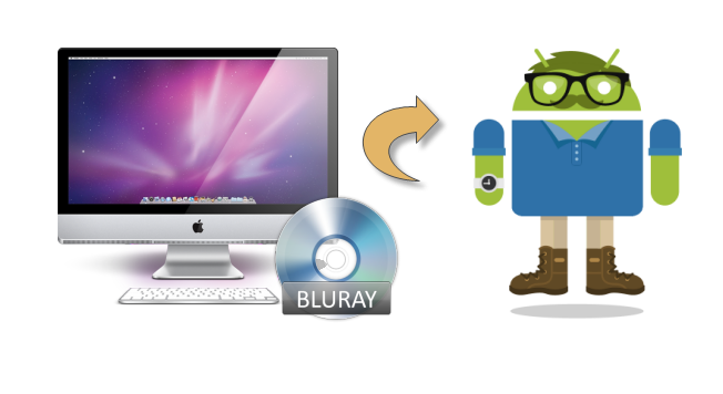 watch blu ray on android Easily Convert Blu ray movies to playable format on Android device on Mac