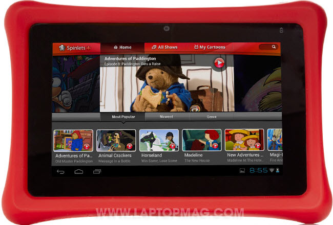 Nabi 2 How to transfer iTunes movies/TV shows to Nabi (2) Tablet for your Kids