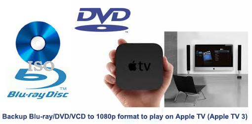 dvd to 1080p for atv3 How to Backup Blu ray/DVD/VCD to play on Apple TV 3