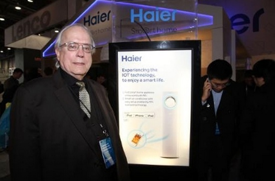 haier1014 Five products unveiled at CES 2014 for Apple