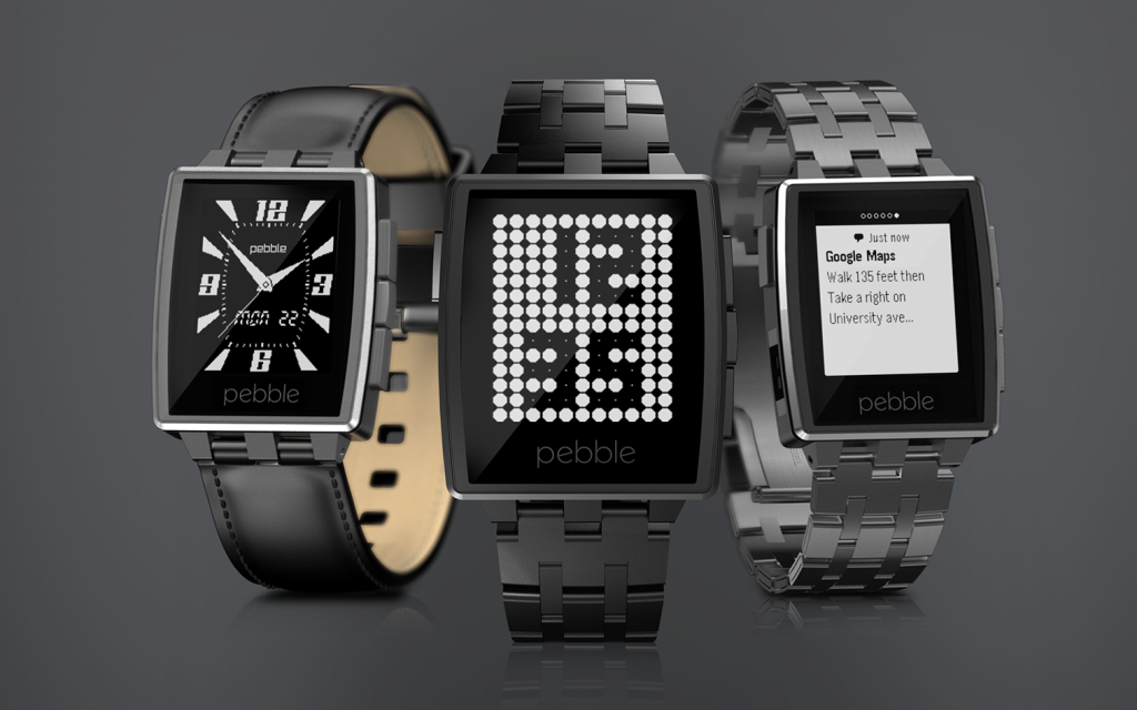 pebble steel Five products unveiled at CES 2014 for Apple