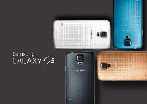 Galaxy S5 Colours Big, Brash Android vs Slight, Beautiful iPhone   Which one are you?