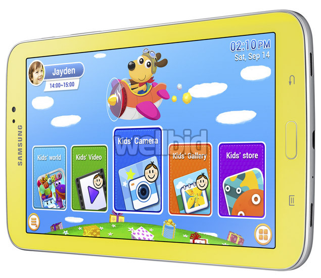 Samsung Galaxy Tab3 Kids 1 Samsung Galaxy Tab 3 7.0 Kids Review