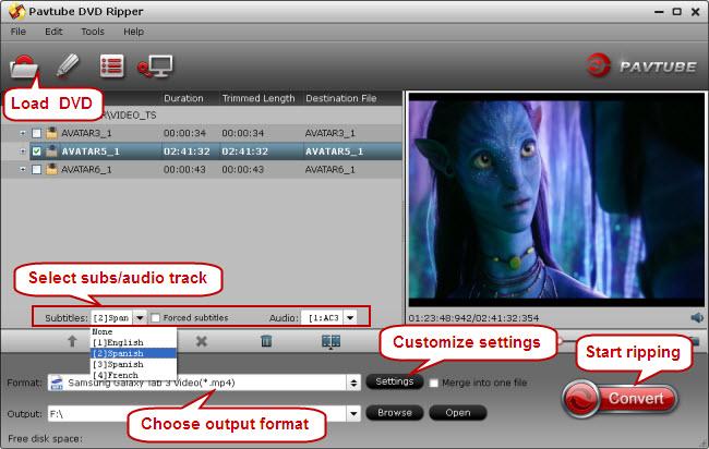 dvd to galaxy tab3 kids edition Watch DVD ISO/IFO collection on Galaxy Tab 3 Kids Edition
