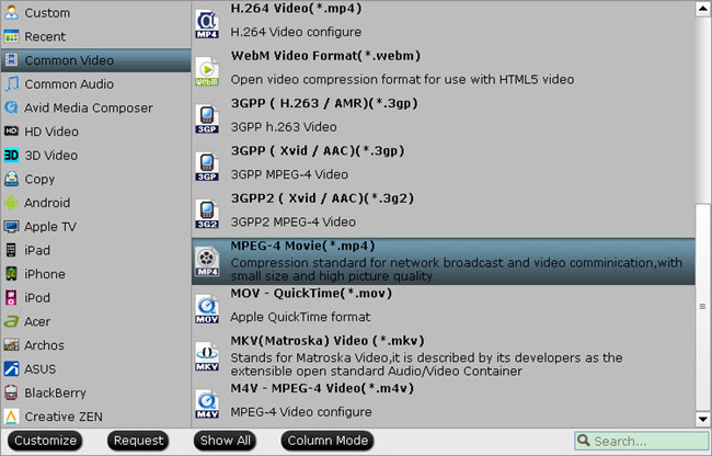 media streamer supported format Backup & Stream a large box of DVDs and Blu Rays through media streamer