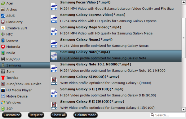 galaxy note 10.1 2014 format Watching DVD on Samsung Galaxy NotePro 12.2 with Subtitles