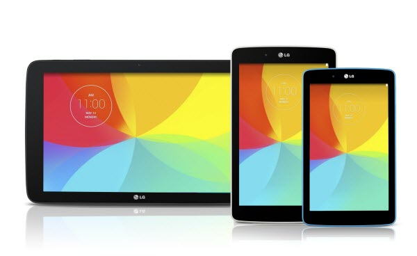 gpad LG Announces Three New G Pad Tablets In 7, 8, and 10 Inch Sizes