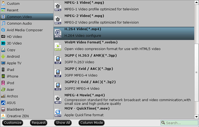 h.264 mp4 profile How to easily convert AVI to MP4 on Windows/Mac?
