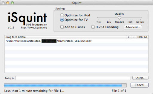 isquint1 2016 Top 10 Free Tools to Convert QuickTime MOV to WMV/AVI/MP4/FLV, etc.