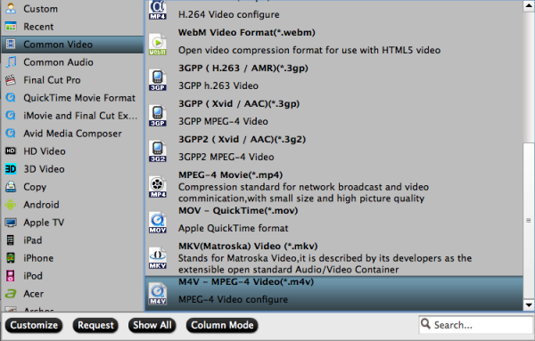 m4v format Convert & transfer Blu ray movies to iTunes on Mac mini for syncing