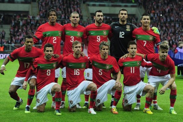 portugal national team for 2014 world cup1 2 Top 10 teams most likely to win the World Cup 2014