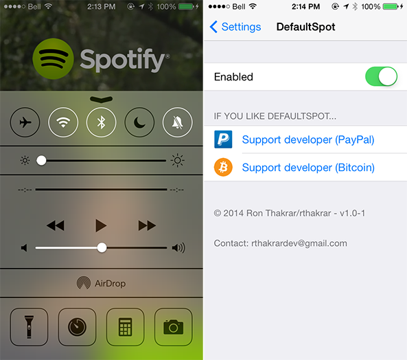 spotify defaultspot How to set Spotify as the default music player on iPhone