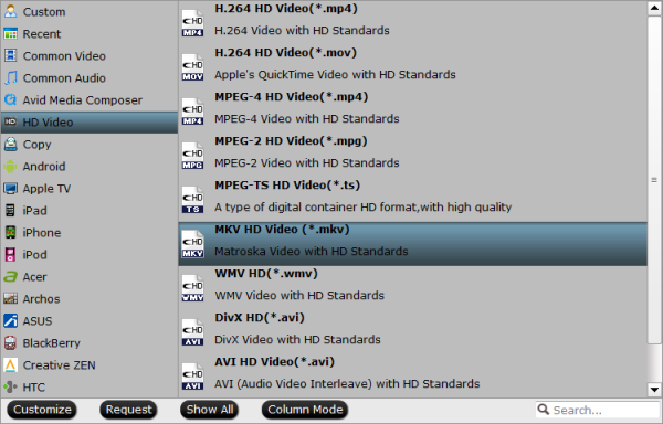 mkv hd format Rip and Merge all DVD Content to One Single MKV HD Video File