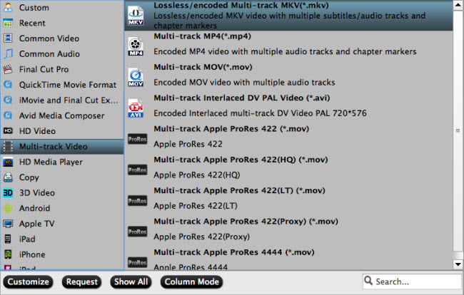 multi track format Is there any good DVDFab alternative for Mac Mavericks available in the market?