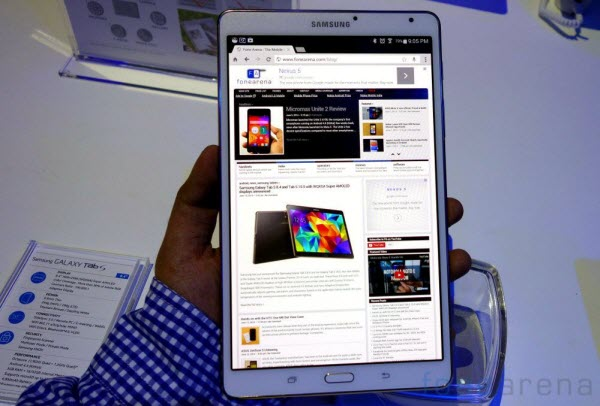 galaxy tab s 8.4 tablet Converting downloaded youtube video to Galaxy Tab S 8.4 for playback