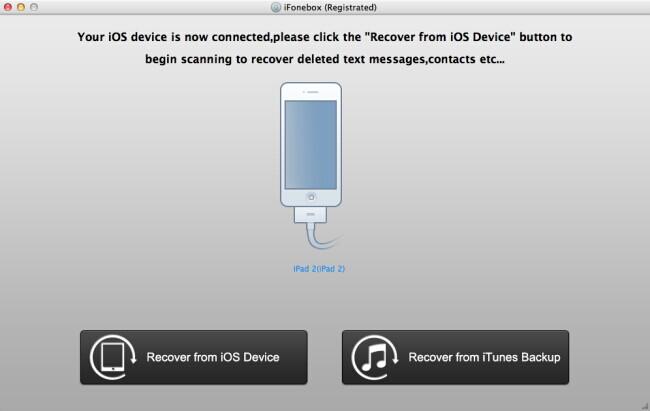 ipad main interface Effective Way to Get lost iPad Notes back on Mac