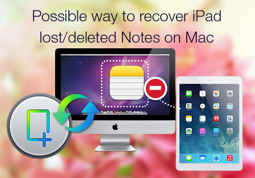 recover ipad notes on mac Effective Way to Get lost iPad Notes back on Mac