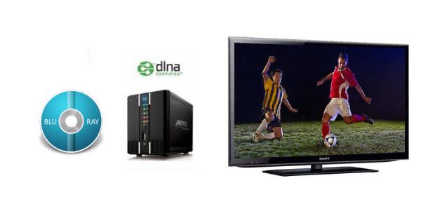 stream blu-ray to tv