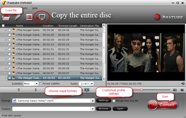 copy the entire dvd disc Using an 12T La Cie Thunderbolt drive to Store Your DVD Library Backups