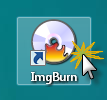Split a double-layer Blu-ray into two parts for burning Imgburn