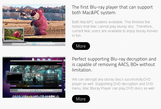 macgo blu-ray player features
