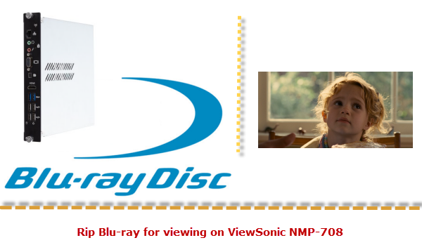 play blu-ray on viewsonic nmp 708