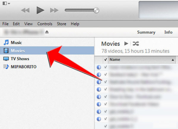 movies in itunes iPhone 6 File Transfer Tips: Sync movies, music, photos from computer to iPhone 6