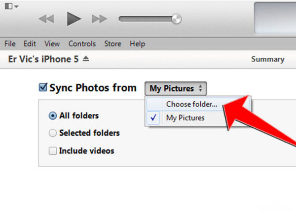 sync photos iPhone 6 File Transfer Tips: Sync movies, music, photos from computer to iPhone 6