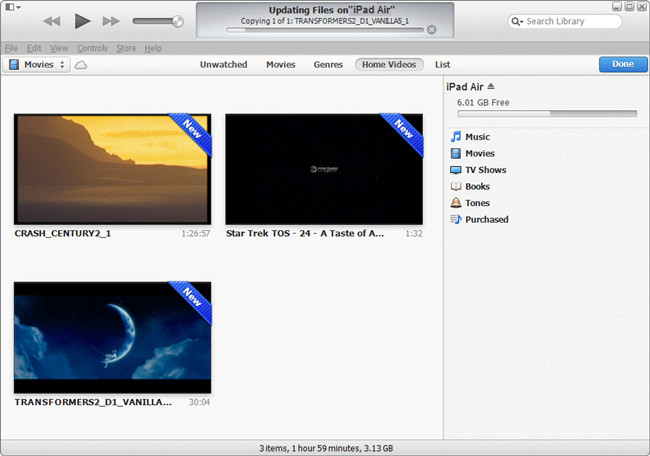 how to get photos on ipad without itunes
