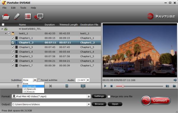 rip dvd to ipad mini 3 2 The Best iPad Mini 3/Mini 2 Ripper   Convert/Rip DVD to iPad Mini 3 and iPad Mini 2 playable Video