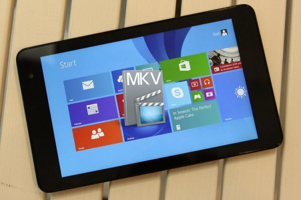copy mkv to windows 8.1 Simple Instruction to get MKV working on Windows 8.1 tablet