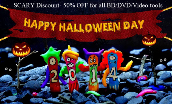 halloween scary discount Last 5 days Halloween Giveaway  50% OFF for all BD/DVD/Video apps